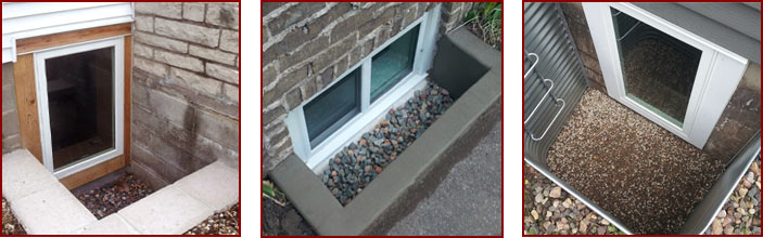 Egress Cement Window Well Affordable Concrete And