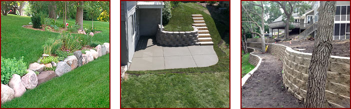 Cement Retaining Walls Affordable Concrete And Waterproofing Inc